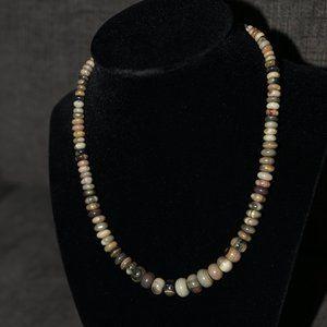Handmade Picture Jasper necklace